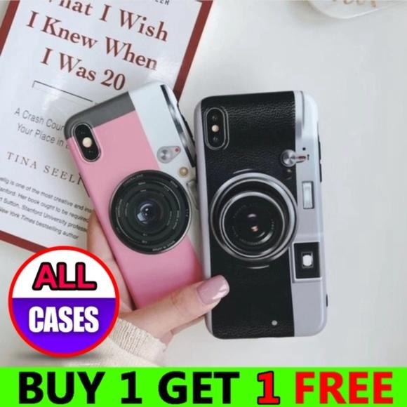 competitive price fd312 1802e iPhone Max/XR/XS/X/7/8/Plus Camera Case W/Holder Boutique